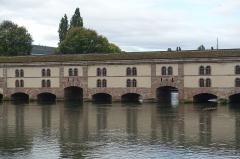 Grande écluse de fortification dite barrage Vauban et ses abords fortifiés -  Barrage Vauban @ Ponts Couverts @ Strasbourg