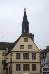 Anciennes Grandes Boucheries - English: Construction achevée en 1588, de style renaissance abrite aujourd'hui le musée historique de la ville de Strasbourg.