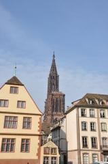 Anciennes Grandes Boucheries -  Cathédrale Notre-Dame de Strasbourg, Strasbourg, Alsace, France