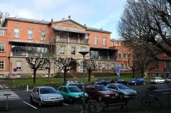 Ancien Hôpital Civil, actuellement Hôpital Universitaire de Strasbourg - German civil engineer and photographer