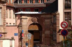 Ancien Hôtel d'Andlau, annexe du Lycée Fustel de Coulanges - English: Strasbourg - Rue des Ecrivains