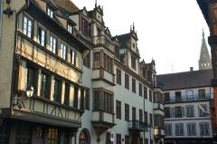 Ancien hôtel des Boecklin de Boecklinsau, puis du Directoire de la noblesse de Basse-Alsace - English: Coucher de soleil sur cet ancien hôtel privé non loin de la cathédrale de Strasbourg