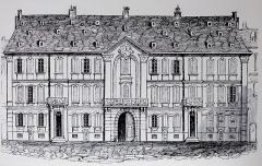 Ancien Hôtel de Neuwiller -  Alsace, Bas-Rhin, Vues historiques de Strasbourg, Hôtel de Neuwiller