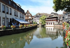 Maison des Tanneurs - English: The popular corner of the Grand Ile of Strasbourg.