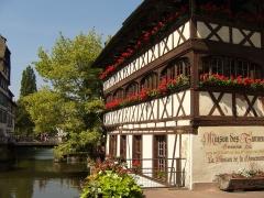 Maison des Tanneurs -  La Maison des tanneurs (Strasbourg)