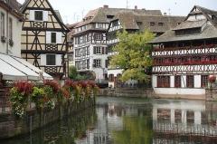 Maison des Tanneurs -  Ill river @ Petite France @ Grande Ile @ Strasbourg
