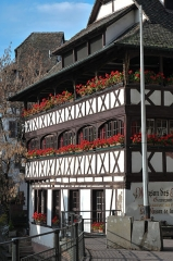 Maison des Tanneurs - Deutsch: Gerberhaus in der Petite France, Straßburg