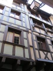 Immeubles -  Deux maisons médiévales de Strasbourg