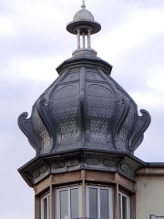 Immeuble - English: Immeuble, 1 Place Broglie, Strasbourg