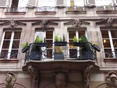 Maison Saré -  Alsace, Bas-Rhin,  Strasbourg, 17 rue du Dôme, Maison Saré (1760)