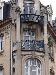 Immeuble - English: Immeuble, 22 rue du général de Castelnau