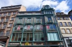Immeuble -  McDonald's @ Rue des Grandes Arcades @ Strasbourg