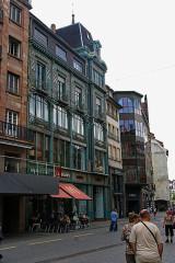 Immeuble - English: Strasbourg - Rue des Grandes Arcades