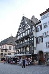 Maison -  Place Marché aux Cochons de Lait, Strasbourg, Alsace, France
