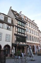 Maison -  8 Place Marché aux Cochons de Lait; Restaurant Winstub Muensterstuewel, Strasbourg, Alasace, France