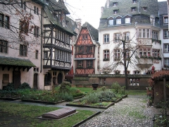 Maison -  It was a little rainy that day in Strasbourg, but still very picturesque