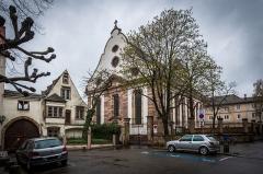 Immeuble -  L'Église protestante Sainte-Aurélie à Strasbourg.