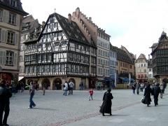 Immeubles - Deutsch: Münsterplatz Straßburg.
