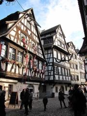 Maison - English: Half-timber in La Petite France, Strasbourg