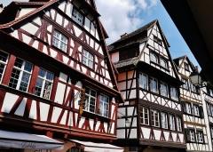 Maison - Deutsch: Stadtviertel La Petite France/Kleinfrankreich, Straßburg, Elsass, Frankreich