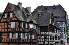 Immeuble -  Strasbourg, Maison de l'éclusier (XVIIIe-1950), 2 quai des moulins