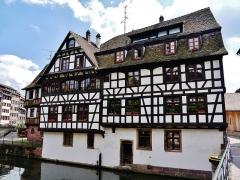 Immeuble - Deutsch: Stadtviertel La Petite France/Kleinfrankreich, Straßburg, Elsass, Frankreich