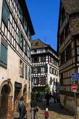 Immeuble - English: Strasbourg - 'La Petite-France' - Rue des Moulins - View North