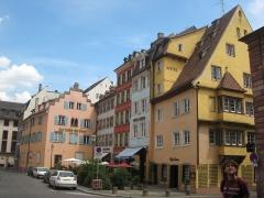 Maison - English: Medieval houses in rue de la Râpe in Strasbourg, France
