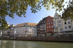 Maison -  Les immeubles de ce quai ont été construit entre le 16ème et le 18ème siècle.