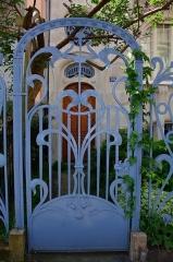 Hôtel Brion, puis pension de famille appelée Hôtel Marguerite - English: Detail of a 1905 Art Nouveau townhouse in Strasbourg
