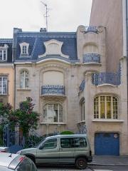 Hôtel Brion, puis pension de famille appelée Hôtel Marguerite -  Magnifique villa du début du XXe siècle, elle est l'un des plus bel édifice d'art nouveau de Strasbourg. Son originalité est remarquable.