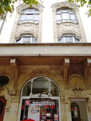 Immeuble - English: Art Nouveau architecture in Strasbourg