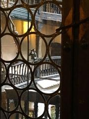 Musée alsacien - Regard vers la cour intérieure