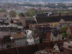 Tour -  Tour-porte de l'Hôpital civil de Strasbourg