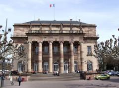 Théâtre municipal, actuellement Opéra du Rhin -  The Opera House, Place Broglie, Strasbourg