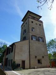 Tour et pavillon de plaisance, dits Breuscheckschlössel - Français:   Strasbourg: le Breuscheckschlössel à Koenigshoffen