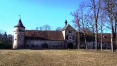 Château de Thanvillé - Français:   Aile gauche du château de Thanvillé