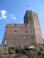 Ruines du château Wangenbourg -  Château de Wangenbourg (XIIIe siècle)