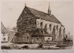 Ancien monastère d'Obersteigen - French engraver