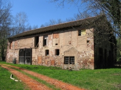 Ancienne Papeterie Pasquay -  bâtiment de l'ancienne briquetterie Pasquay à Wasselonne (Bas-Rhin) au lieu-dit la Papeterie.