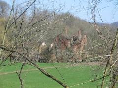 Ancienne Papeterie Pasquay -  bâtiment de l'ancienne briquetterie Pasquay à Wasselonne (Bas-Rhin) au lieu-dit la Papeterie. Ancienne usine à chaux?