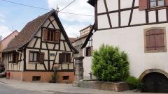 Vestiges des anciennes fortifications -  Alsace, Bas-Rhin, Westhoffen, Impasse de l'Argent.