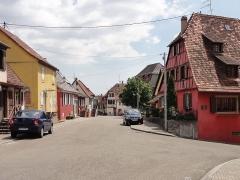 Maison -  Alsace, Bas-Rhin, Westhoffen, Rue de la Liberté.