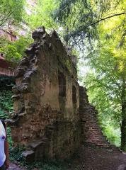 Ruines du château du Vieux-Windstein -  DSC_6657 - DSC_6660