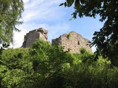 Château de Hohenbourg -  Château de Hohenbourg Parc naturel régional des Vosges du Nord, Alsace, France August 2010
