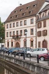Maison Vogelsberger - Deutsch: Maison Vogelsberger, Quai Anselmann, Wissembourg