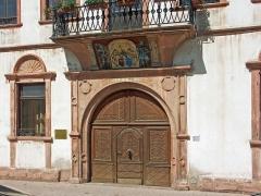 Maison Vogelsberger - Deutsch: Renaissance-Portal am Vogelbergerhaus in Weißenburg