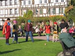 Maison Wagenführer -  Wissembourg, Spiel im Park,_Frankreich