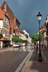 Ancienne Maison Bürgerhof - English: Wissembourg, the Rue Nationale
