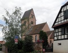 Eglise protestante Saint-Pierre - Français:   Temple protestant Saint-Pierre à Wolfisheim